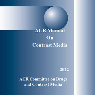Manual on Contrast Media