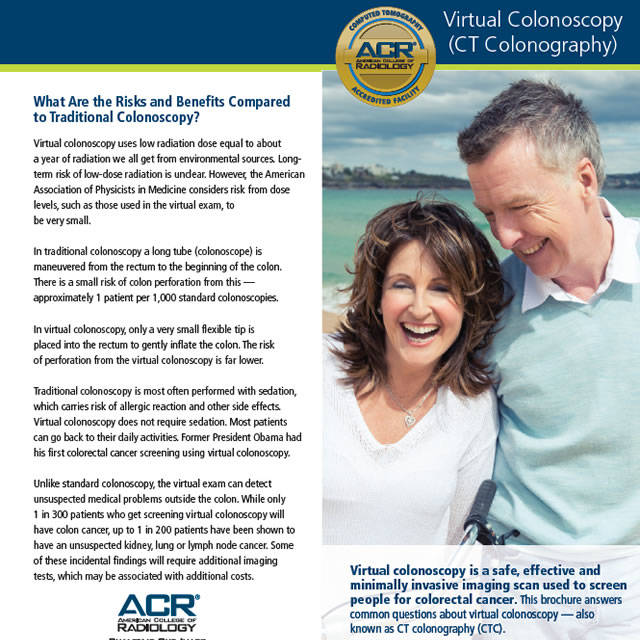Colon Cancer Screening Resources American College Of Radiology