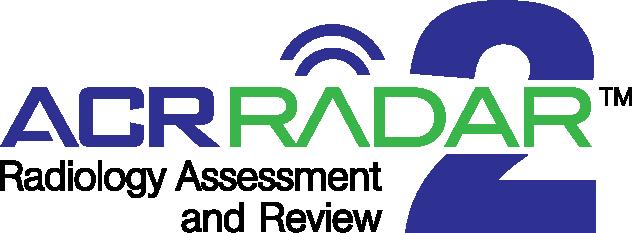 ACR RADAR 2 | American College of Radiology | American College of