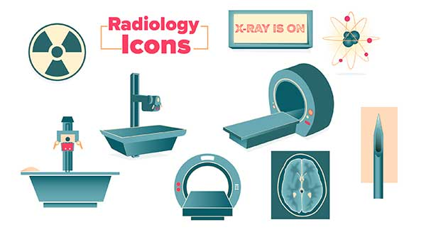 Free radiology icon set to download