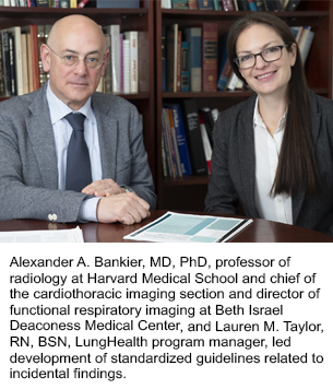 Alexander A. Bankier, MD, PhD, and Lauren M. Taylor, RN, BSN